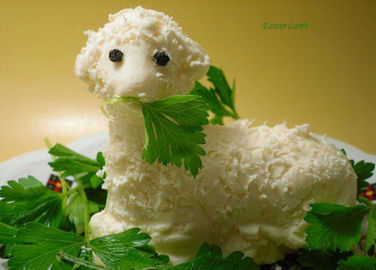 Image: Butter lambs. It's a thing