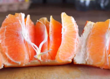 Image: You've been peeling oranges wrong your whole life