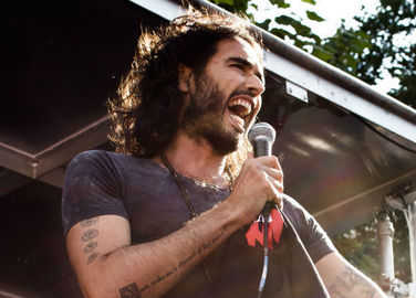 Image: Russell Brand is opening a café
