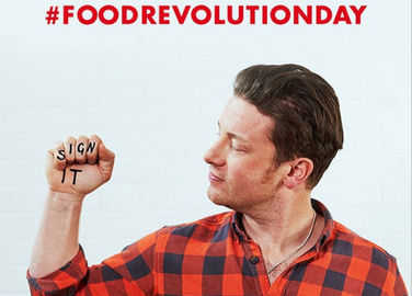Image: Sweet music: Jamie Oliver co-writes song with Ed Sheeran for Food Revolution Day