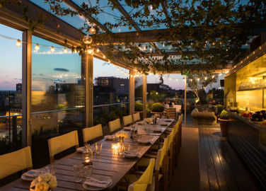 Image: Best places for eating outdoors in London