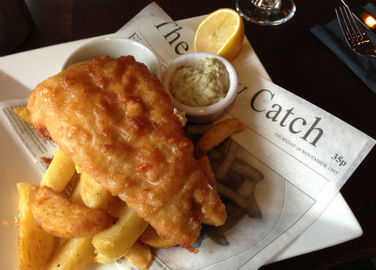 Image: Your fish and chips are about to change