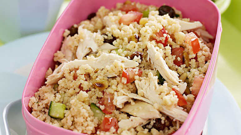 Image: Honey Lemon Couscous salad