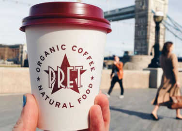 Image: This is how to get a free coffee at Pret