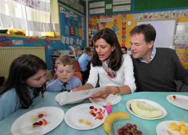 Image: Miriam Clegg reveals secret food blog