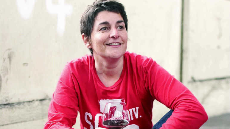 Image: Natural wine with That Crazy French Woman, Isabelle Lageron