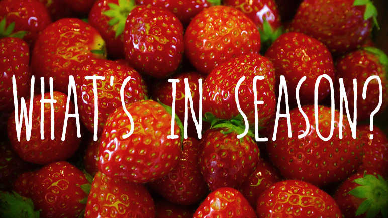 Image: What's in season: strawberries