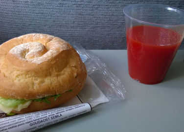 Image: This is why you want to drink tomato juice on a plane