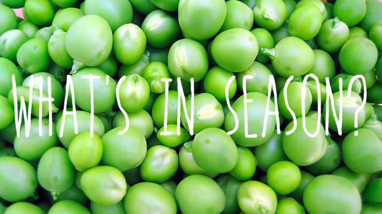 Image: What's in season? Peas
