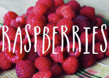 Image: What's in Season? Raspberries