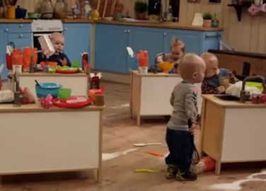 Image: Baby Bake Off is brilliantly ridiculous