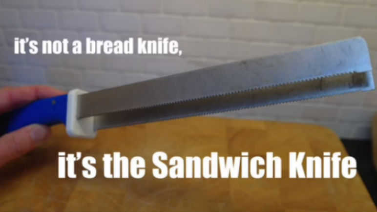 Image: Is this sandwich knife the best thing since sliced bread?