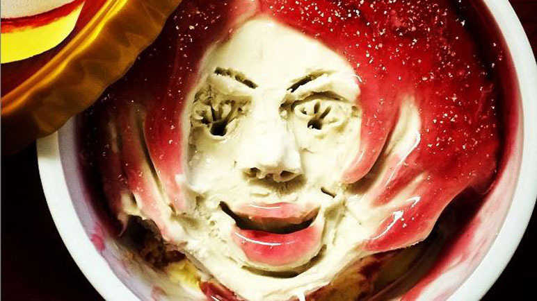 Image: This guy turns ice cream into art