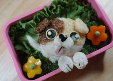Image: Bento art of our fave cartoon characters? Yes, please