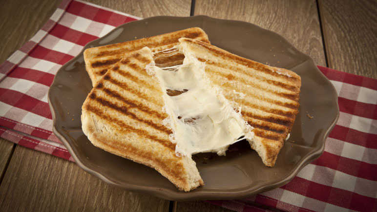 Image: Fancy getting a cheese toastie delivered in the post?