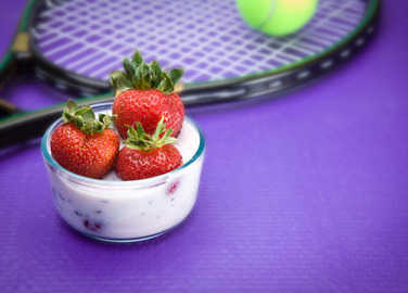 Image: Wait, we eat how much food at Wimbledon?
