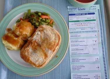Image: Hospital food around the world