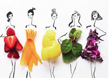 Image: Deli chic: Food meets fashion in this amazing Instagram account