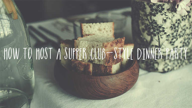 Image: How to host a supper club-style dinner party for friends