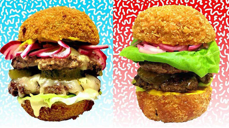 They've made a Scotch egg burger and now our arteries are scared