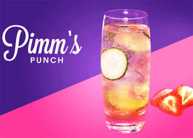 Image: Pimms Punch
