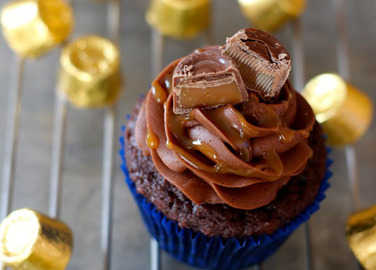 Image: Chocolate bar cupcakes? No we're not kidding