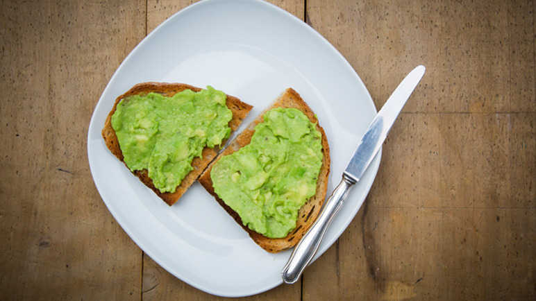 avocado-on-toast-homemade