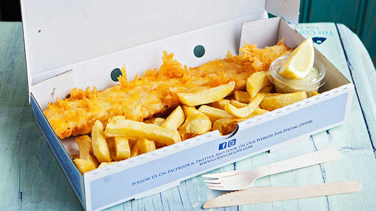 Image: The finest fish and chips in Britain have been revealed