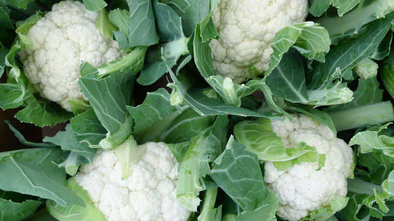 Image: Whats in season? Cauliflower