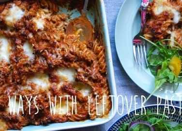 Image: Seven ace ways with leftover pasta