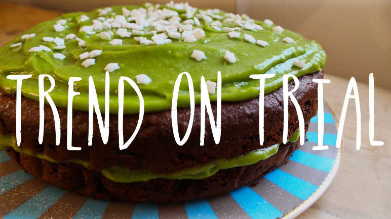 Image: Trend on trial: would you ice a cake with avocado?