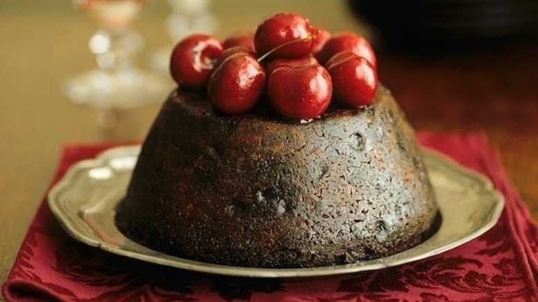 Image: Christmas puddings so decadent, you'll *almost* not want to eat them