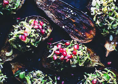 Image: 13 vegan Christmas lunches that are way better than nut roast