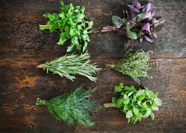 bunches-of-herbs-homemade