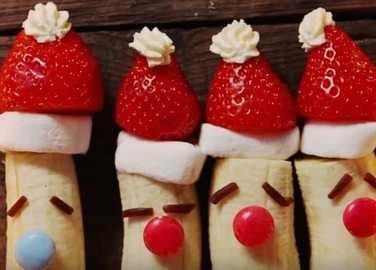 Red-nosed reindeer bananas