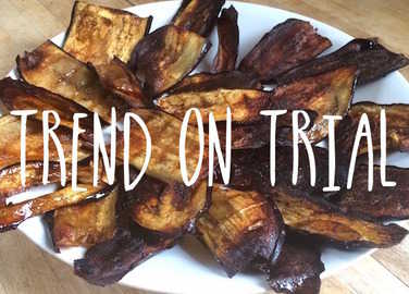 Image: Trend on trial: can you really make vegan bacon out of aubergine?