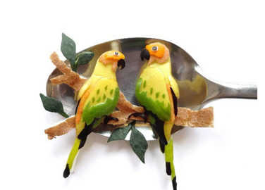 parrots-on-spoon-homemade