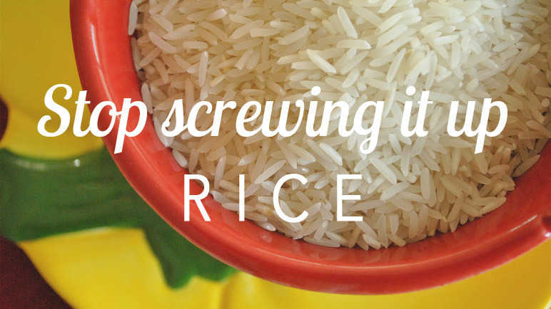 Image: Perfect rice