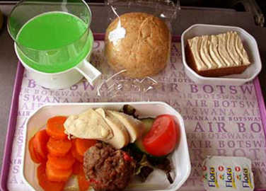 Image: Airline meals