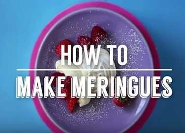 Image: How to make meringues