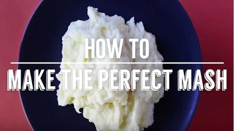 How to make the perfect mash