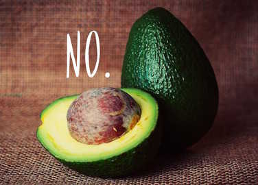 Image: Things you only know if you hate avocados