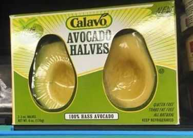 Image: You can now buy pre-halved avocado and we're ready to stop eating it now