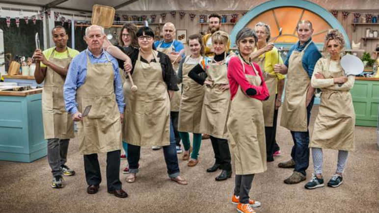Image: Harmony is restored to the GBBO tent