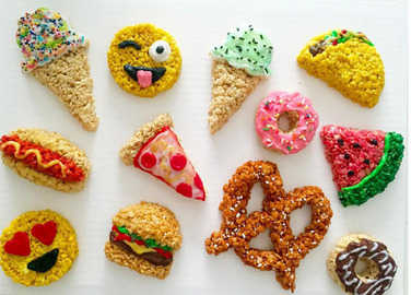rice-krispy-emoji-homemade