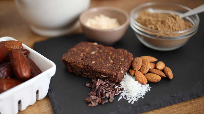 Image: Would you eat an energy bar made from crickets?