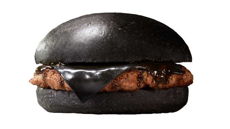 Image: Nothing to see here, just a black cheeseburger