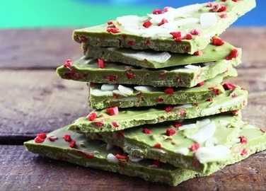 How to make matcha bark