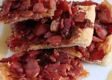 Image: Bacon maple pastry video