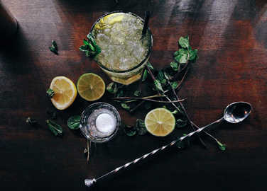 mojito-being-shaken-homemade